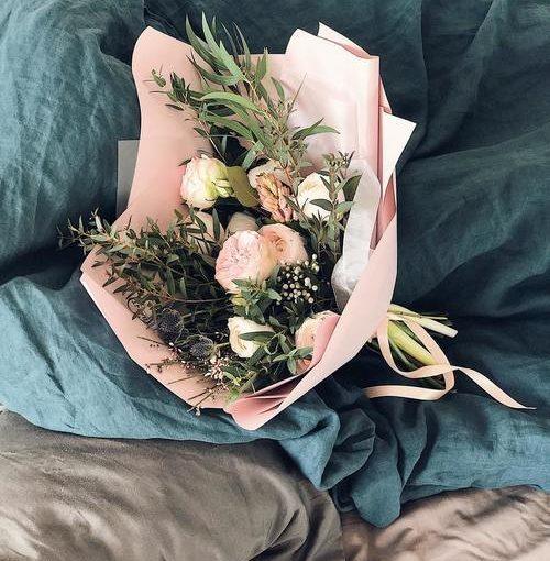 Överraska dig själv med blommor när du hemmabloggar